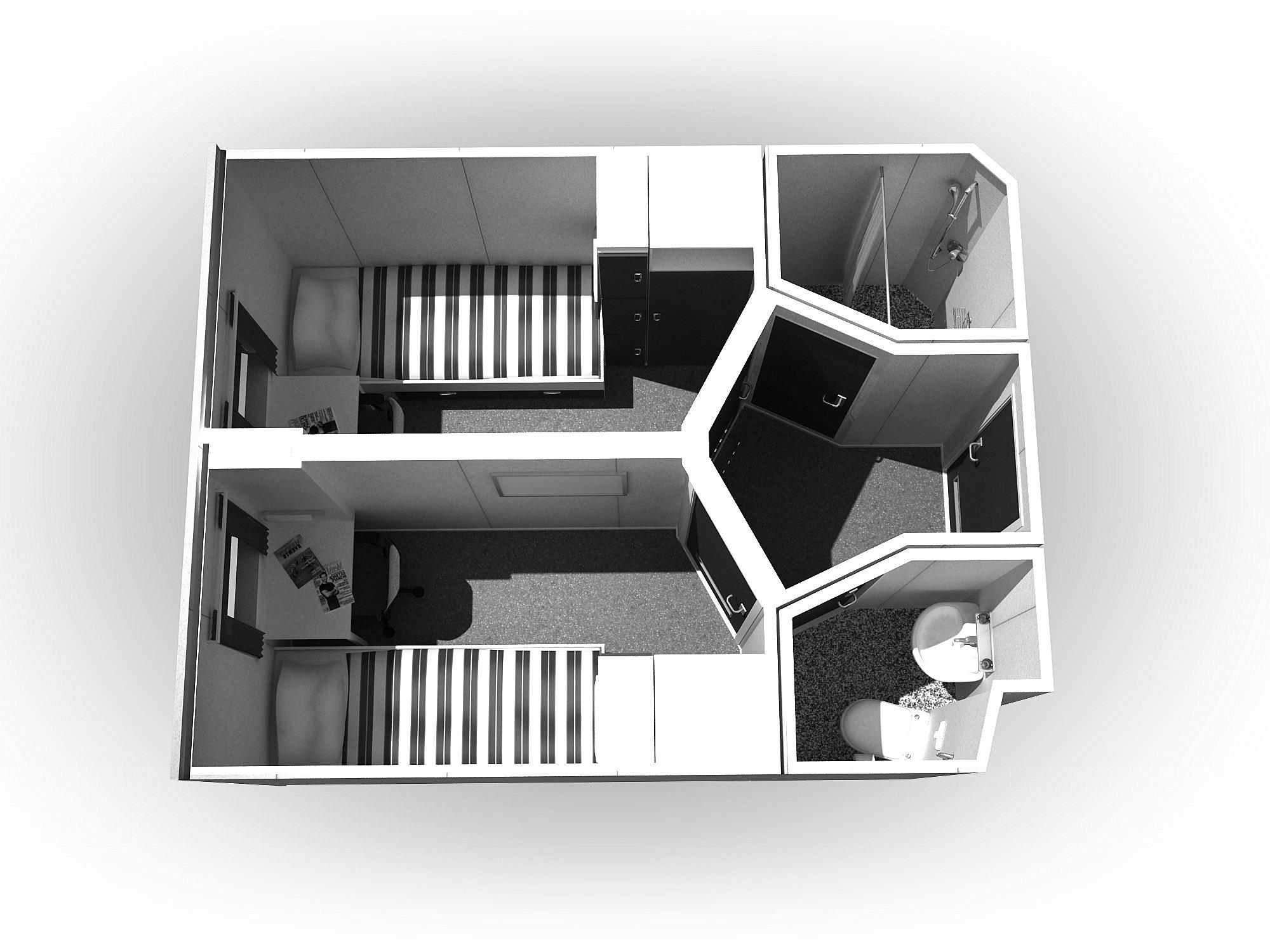 4-Panel-doors-ceiling-and-flooring-ZW